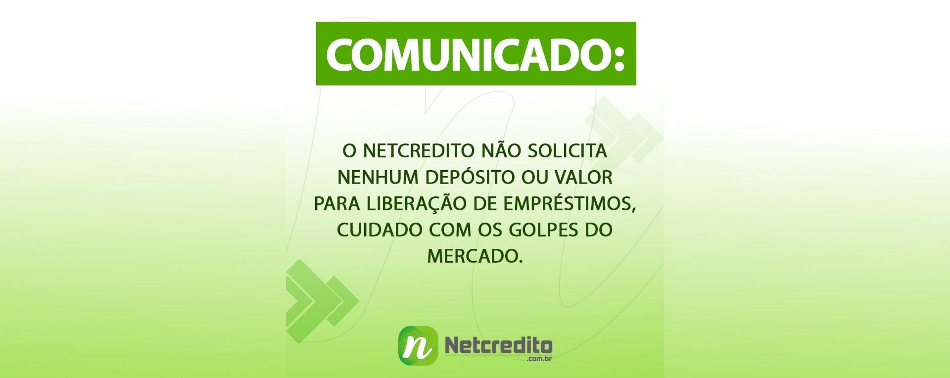 Comunicado Netcredito