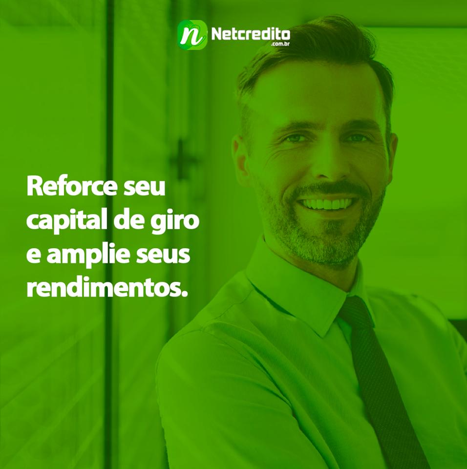 Reforce seu capital de giro e amplie seus rendimentos.