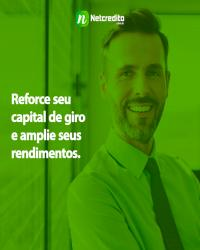 Reforce seu capital de giro e amplie seus rendimentos.