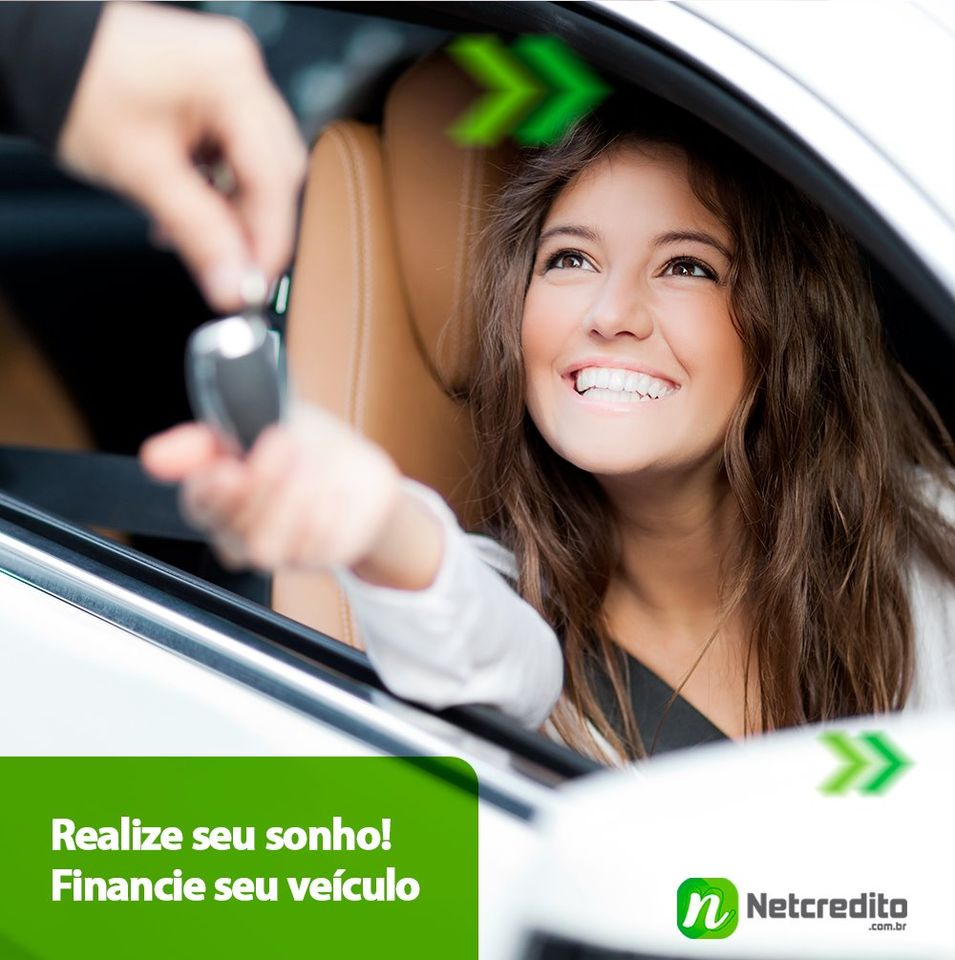 Realize seu sonho! Financie seu veículo.