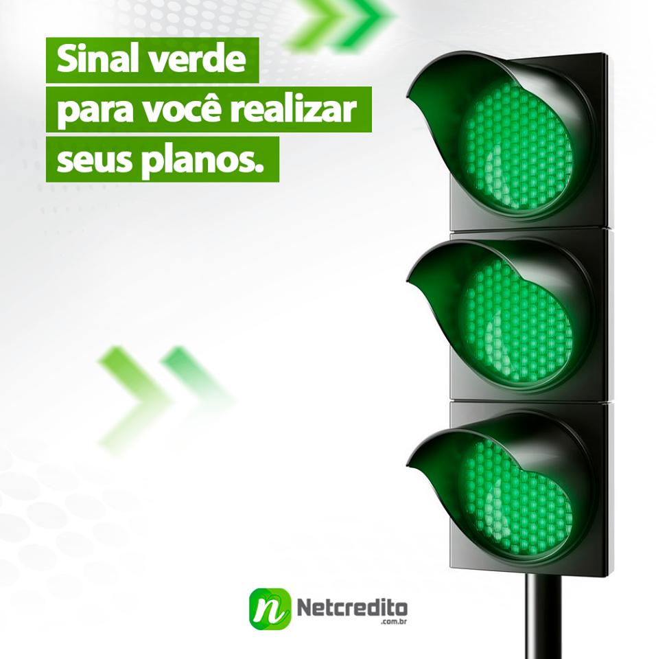 Sinal verde para você realizar seus planos.