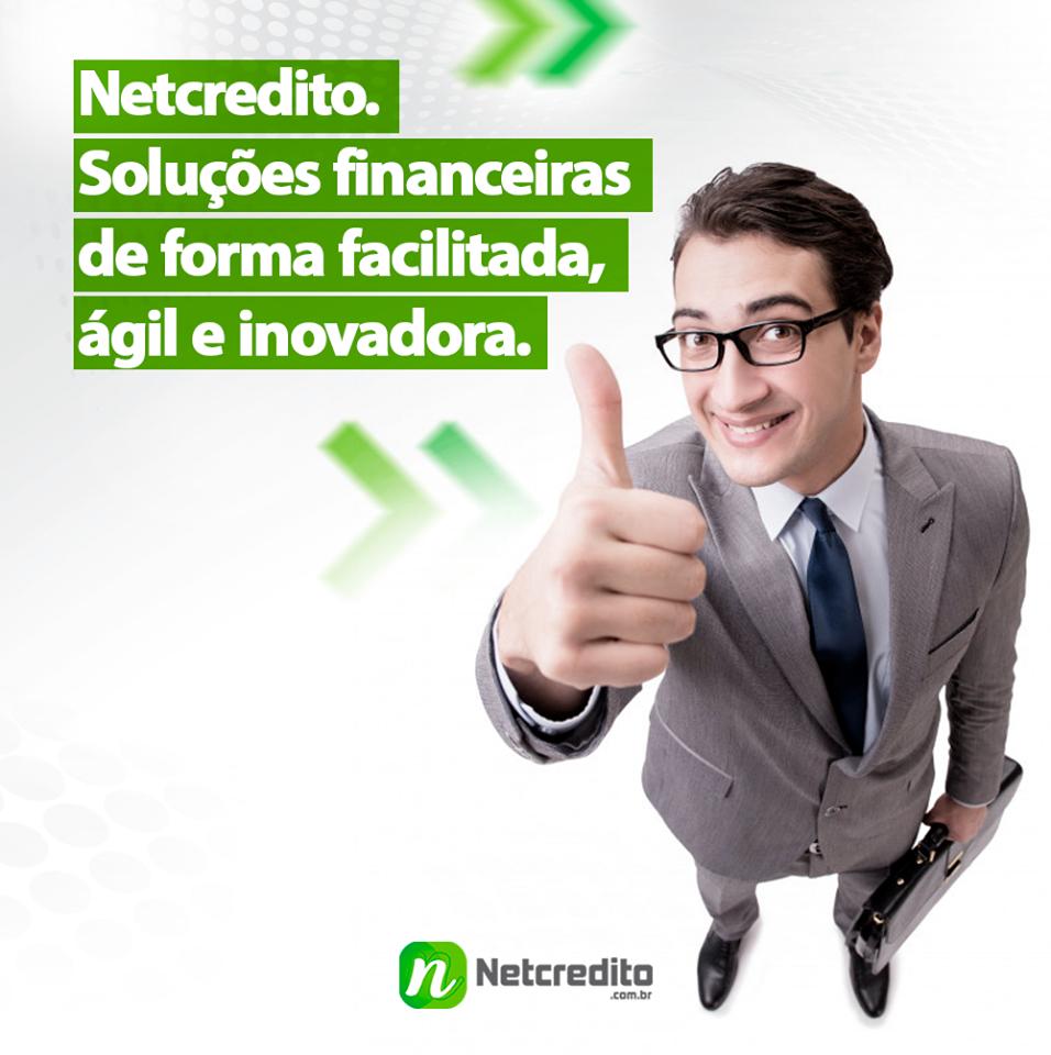Netcredito. Soluções financeiras de forma facilitada, ágil e inovadora.
