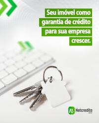 Seu imóvel como garantia de crédito para que sua empresa crescer.