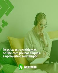 Resolva seus problemas online com pouco cliques e aproveite o seu tempo!