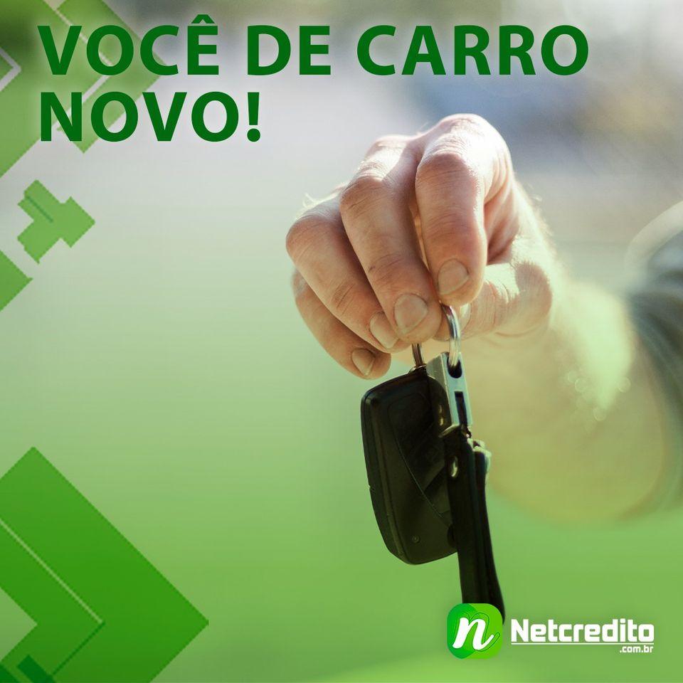 Você de carro novo!