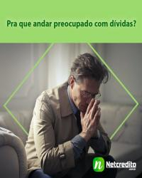 Pra que andar preocupado com dívidas?