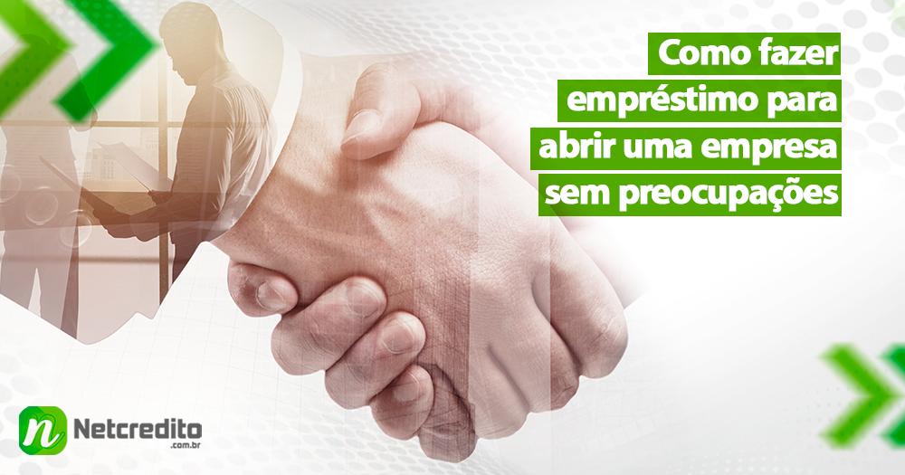 Como conseguir empréstimo para abrir uma empresa?