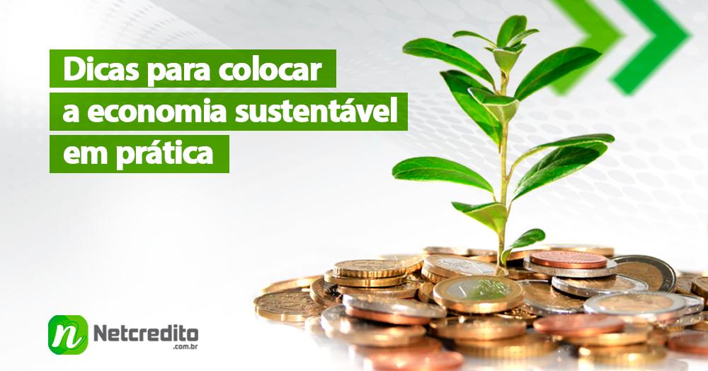 Economia sustentável: 5 dicas para guardar dinheiro
